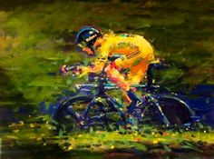 ARTFINDER: Yello Wiggo,Tour de France 2012 by Rob  Ijbema -