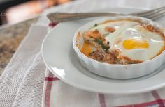 #LowCarb Italian Baked Eggs Shared on https://www.facebook.com/LowCarbZen