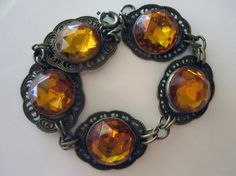 Amber antique bracelet from the 20's/30s