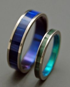 Blue Kryptonite ring from Minter & Richter designs - we're actually doing this!