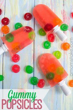 Quick Gummy Popsicles