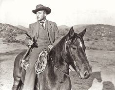 Here, Hart looks both dapper, yet ready for trouble in his frontier-era suit as he brandishes a Colt Peacemaker. Like many silver screen heroes of the Golden Age of Hollywood, Hart worked as a cowboy while growing up—he was the real deal!  – True West Archives –