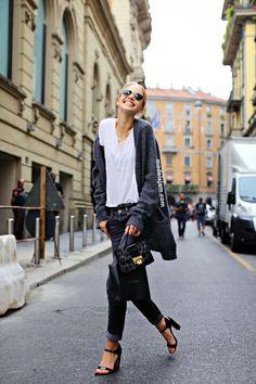 runwayandbeauty:  Sasha Luss outside Gucci Spring 2015,...
