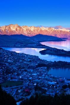 2. Queenstown, New Zealand-  With unsurpassable views, this buzzing town is said to be pretty remarkable.