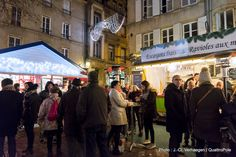 """Metz illuminé (2). Découvrez le """"Marché de Noël gourmand"""" en venant nous rendre visite :-) !"""