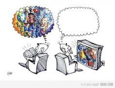 TV vs BOOKS