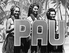 The Pleasant Hawaiian Hula Show, formerly known as The Kodak Hula Show performed for the last time in 2002, ending a 65 year tradition in Waikiki.