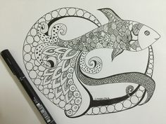 Octofish #Doodleart