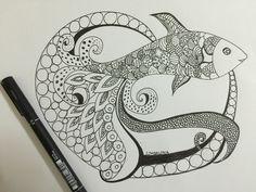 Octofish #Doodleart