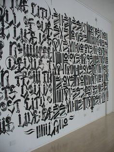 retna and chaz bojorquez @ don gallery, milan by fabrye, via Flickr