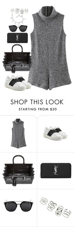 """""""Untitled#4262"""" by fashionnfacts ❤ liked on Polyvore featuring WithChic, Valentino, Yves Saint Laurent and Miss Selfridge"""