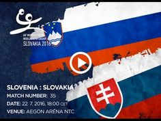 SLOVENIA : SLOVAKIA Bratislava, World Championship, Slovenia, Youth, Flag, Handball, World Cup, Science, Flags