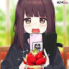 Chibi Kawaii, Loli Kawaii, Kawaii Anime Girl, Cool Anime Girl, Anime Art Girl, Anime Guys, Anime Girl Drawings, Kawaii Drawings, Chica Anime Manga
