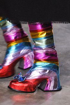 Meadham Kirchhoff at London Fashion Week Fall 2014 - Details Runway Photos