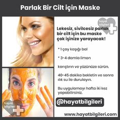 Mask for Bright Skin- Parlak Cilt için Maske care > The wonderful mask that brightens the skin! Hair Loss Treatment, Natural Hair Conditioner, Dark Curly Hair, Hair Care Oil, Face Mapping, Hair Protein, Hair Rinse, Bright Skin, Summer Makeup