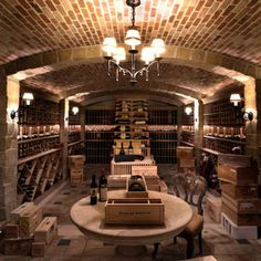 Rustic Wood and Stone Homes | Our French Inspired Home: Old World Rustic Wine Cellars