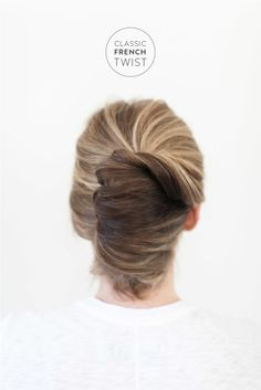 Classic French Twist: http://www.stylemepretty.com/2015/04/01/bridal-beauty-classic-french-twist/ | Photography: Ruth Eileen - http://rutheileenphotography.com/