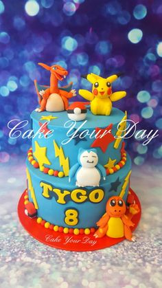 Pokemon cake - Cake by Cake Your Day (Susana van Welbergen)