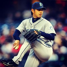 Kuma on the mound for the #Mariners today. His 0.84 WHIP leads the American League and trails only #Mets Matt Harvey (0.82) for the #MLB lead. 5/31/13