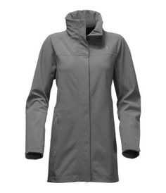 Take on wet, windy weather with confidence in The North Face Apex Flex parka. The Gore-Tex® shell has a soft woven face and stretch-knit backing to ensure dry, breathable comfort. Raincoats For Women, Outerwear Women, Jackets For Women, Black Rain Jacket, Rain Jacket Women, Rain Parka, Parka Coat, North Face Women, The North Face