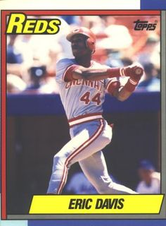 Cincinnati Reds in the 1980s -- and baseball cards-- both awesome :D