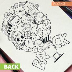 BACK Doodle + Giveaway by PicCandle.deviantart.com on @DeviantArt