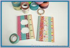 Prises électriques décorées de washi tape
