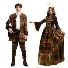 Pareja Disfraces Príncipes Góticos #parejas #disfraces #carnaval