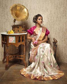 Sarees – An Indian fashion attire Indian Photoshoot, Saree Photoshoot, Bridal Silk Saree, Silk Sarees, Satin Saree, Bollywood, Indian Bridal Fashion, Up Book, Elegant Saree
