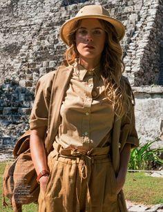 safari look for fall womens Mode Safari, Safari Hat, Jungle Safari, Photoshoot Idea, Viktorianischer Steampunk, Steampunk Cosplay, Safari Outfits, Safari Outfit Women, Safari Costume Women