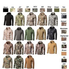 Softshell Jacket, softshell clothing, Outdoor Jacket, Outdoor Clothing, Outdoor Windbreaker, Camouflage Clothing,, tactical BDU, Combat Clothing, Shooting Coat, Woodland Hunting clothing-Product Center-Sunnysoutdoor Co., LTD-