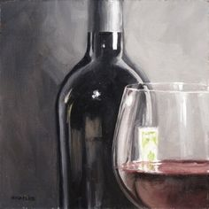 Would love this painting! It would match perfectly with the other wine decor we have.