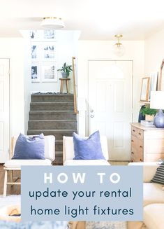 If you want a quick, easy, and completely rental-friendly home decor update, look no further! Swapping out your light fixtures is the perfect option! Military Spouse, Military Life, Rental Decorating, Decorating Tips, Diy House Projects, Home Hacks, Home Decor Inspiration, Light Fixtures, The Originals