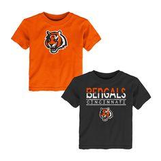 0b20aa4c5 Cincinnati Bengals Toddler Boys  2pk T-Shirt Set - 3T