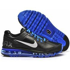 new style e3c1d 2dc83 Buy Nike Air Max 2013 Mens Shoes Leather On Sale Black Blue Top Deals from Reliable  Nike Air Max 2013 Mens Shoes Leather On Sale Black Blue Top Deals ...