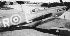 """Spitfire Mk I PR-L taxies out from its dispersal point at RAF Northolt on 1 July 1940, with P/O David M """"DMC"""" Crook of No 609 Squadron RAF strapped into the cockpit. Flying the aircraft on the evening of 9 July, the 25-year-old pilot claimed a Ju 87B-1 of 1/StG77 destroyed and another damaged off Portland Bill, its first aerial victories."""