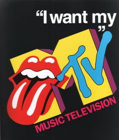 The birth of MTV - 08/01/1981, I was in New York at my Uncle and Aunties house  :) Old Time Radio, In This Moment, Rolling Stones, Mtv, School, Image Search, 80s Logo, Pop Culture, Culture Club