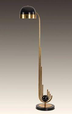 Swan Floor Lamp / Losh Design