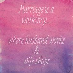 Some true thoughts on marriage)