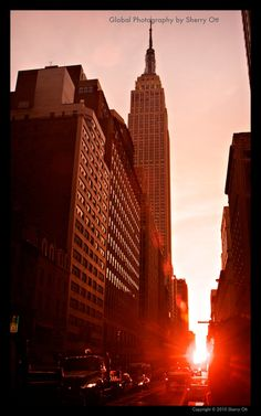 Photo of the Week – #Manhattanhenge - it only happens twice a year!