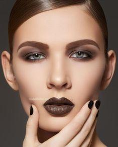 Коричневый - главный цвет губной помады наступившей осени: какой оттенок выбрать и с чем 'носить'
