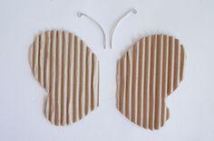Paper Mache Crafts For Kids: Butterfly � Flutter! Flutter!