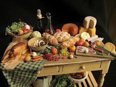 Dollhouse feast | Flickr - Photo Sharing!