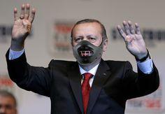 """© Photography edgar zollinger / """"Erdowahn"""" Recep Tayyip Erdoğan"""