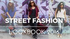 Street Fashion Lookbook 2016 || Casual #OOTD
