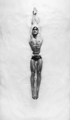 """Carlos Serrao - """"The Opaque"""" - Olympic - Swimmer - Nathan Adrian"""