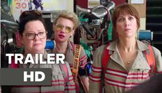 GHOSTBUSTERS   Horror Comedy Movie Full Trailer 2 + 1  HD 2016