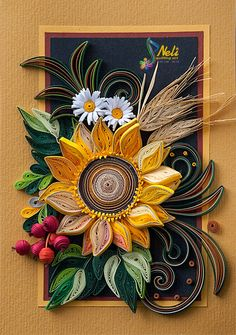 *QUILLING ~ by:  neli
