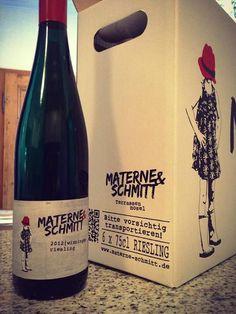 Wieder mal was zum Probieren ;-) 2012 zwei Ortsweine: Winninger und Kobener Materne und Schmitt // Riesling-Weingut // Winningen a. d. Mosel materne-schmitt.de