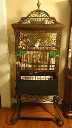 One of kind Antique Bird Cage!